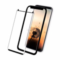 Factory price! Bubble free 3D full glue tempered glass screen protector for Samsung S9