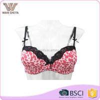 Adults hot selling women lace decoration elegant breathable sexy image girl bra