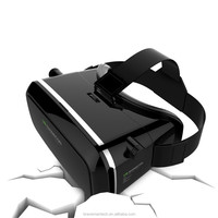 "2016 Virtual Reality Glasses VR Box 3D glasses headset for google cardboard glasses for 3.5-6.0"" mobile for iPhone"
