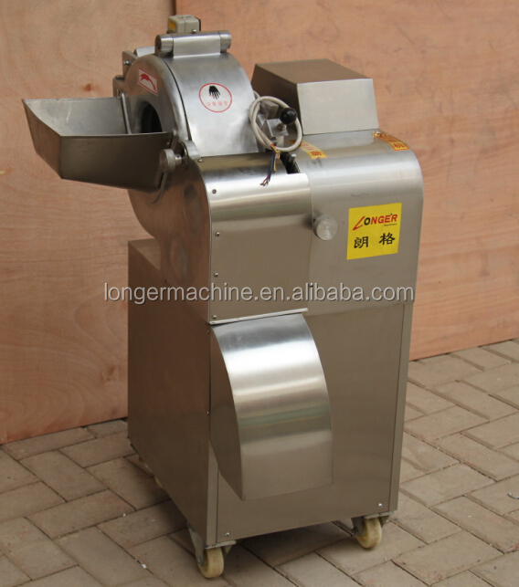 Automatic industrial commercial fruit and vegetable cube cutting machine