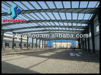 prefabricated clear span steel buildings