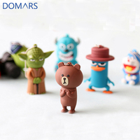 2017 New Sale Cartoon Gifts Mini Cartoon USB Flash Drive 16GB Cute Design