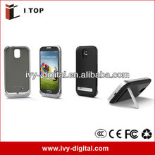 NEWEST DESIGN For Samsung Galaxy S4 Battery Charger Power Bank Case with stand 3200mAH