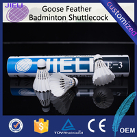class A All-round most durable goose feather shuttlecock Badminton