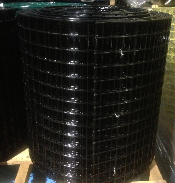 2' x 100' Metal Welded Wire PVC Coated Fence 16 ga