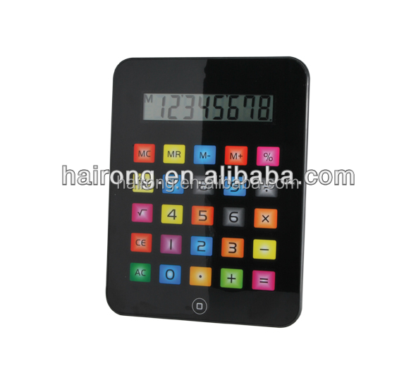 Hairong hot sell Easy touch desktop gift calculator