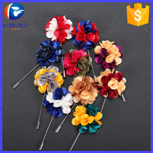 Trendy Daisy Flower Lapel Pins Brooches for Women High Quality Broches Lapel Pin For Wedding Handmade Suits Shirt Men Brooch