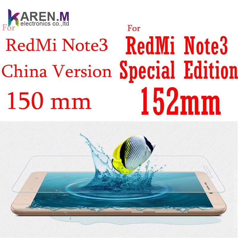 Wholesale 152mm Tempered screen protector for redmi note3 Special Edition and All Xiaomi Models