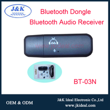 BT-03N USB bluetooth music receiver bluetooth 4.0 dongle driver
