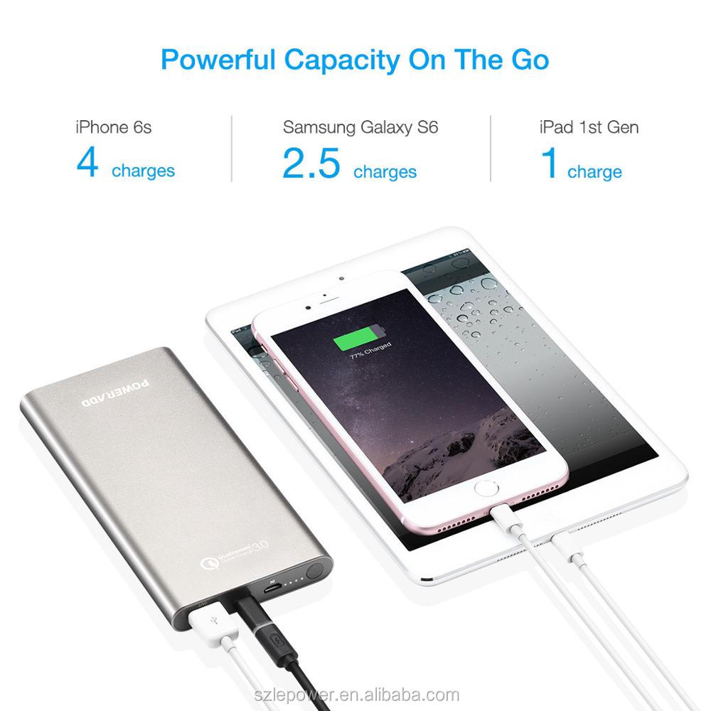 Trending Hot Products Quick Charge 3.0 Power Bank 10000mAh Type C Port