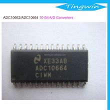 ADC10662/ADC10664 10-Bit 360 ns A/D Converter with Input Multiplexer and Sample/Hold
