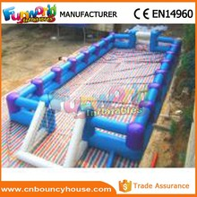 Inflatable football pitch inflatable sports soap soccer
