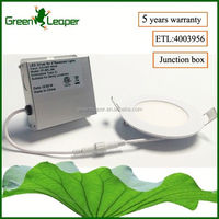Good price 3000K IC rated led recessed lighting for insulated&drop ceiling