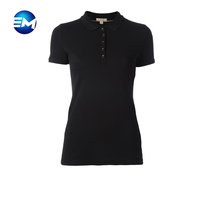 Women stylish dry fit polo t shirt high quality wholesale factory in china