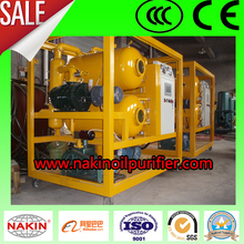 ZYD Double stage Vacuum Transformer Oil Regenerator Filtration Unit