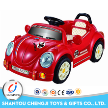 2017 new design battery powered rc model toy kids children ride on car