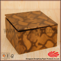 Decorative pattern small package soap box for packaging with hinged lid
