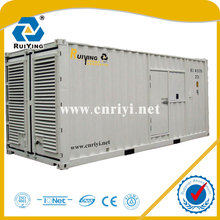 1000kw /1250kva rated , 199 fuel consumption , slient , portable diesel generator set