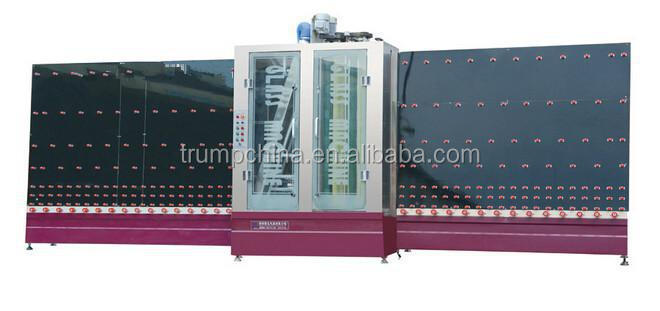 High speed glass machine veritical glass automatic washing machine