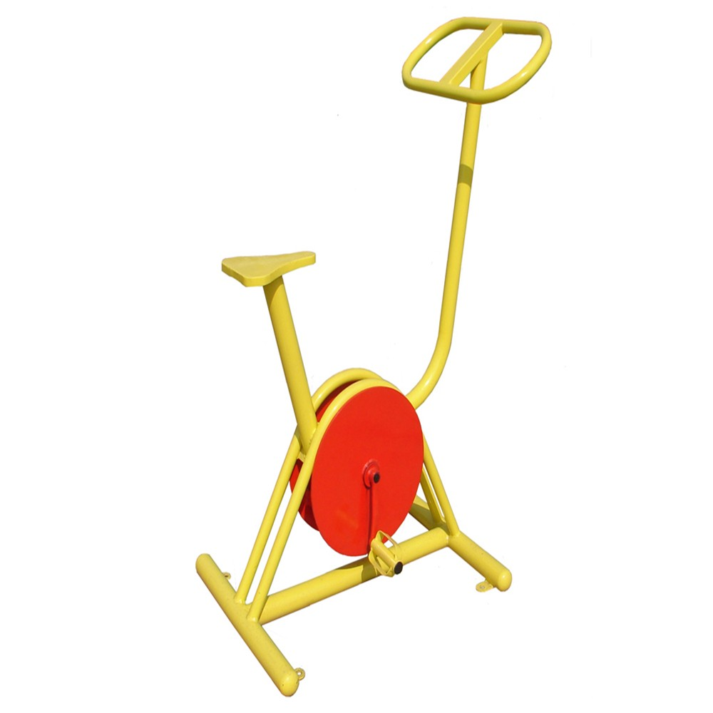 Street Workout Exercise Equipment galv fitness bike used in garden