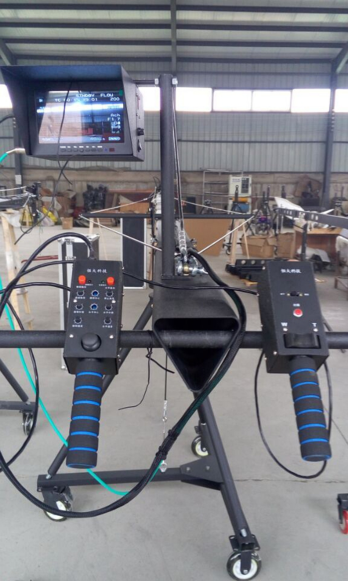 Factory supply photo filming 10m 2-axis camera jimmy jib crane for sale