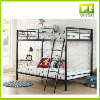 Quick Lock Twin over Twin Metal Bunk Bed