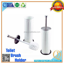 factory with plastic round cleaning brush toilet brush stainless steel