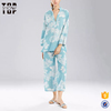 Quality chinese products 2017 flowers pattern night wear for women girls pj set