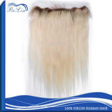 Wholesale Human Hair Ear To Ear Lace Frontal Piece Ombre Hair Extension Lace Front Closure