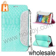 Fashional Twinkling Fish Scale Texture Folder Stand Leather Handbag Case for Samsung Galaxy Note 3 N9000 N9002 N9005