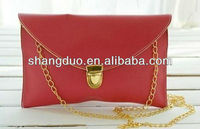 ladies small fashion purse with chain