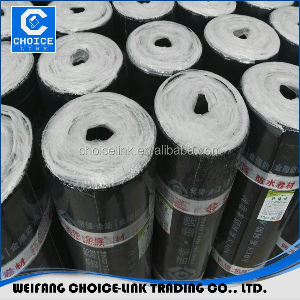 Modified Bitumen Waterproofing Membrane Reinforced Polyester Mat