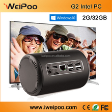 iweipoo Smart Computer TV Box Intel Z3735F 2GB/32GB Quad Core mini pc with 2.0P Camera