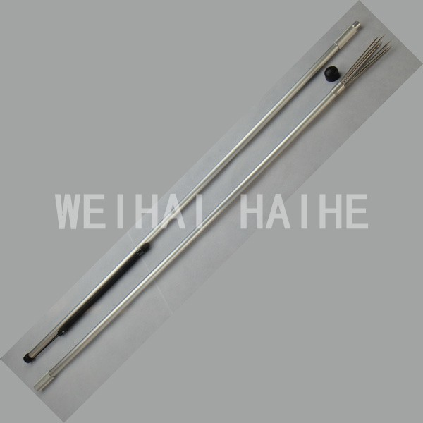 5 Sharp prongs 2 Pieces Aluminium Hand Spear