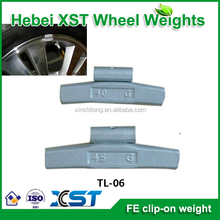 fe clip on wheel weight for alloy rim