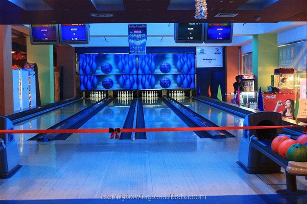 bowling alley machine price