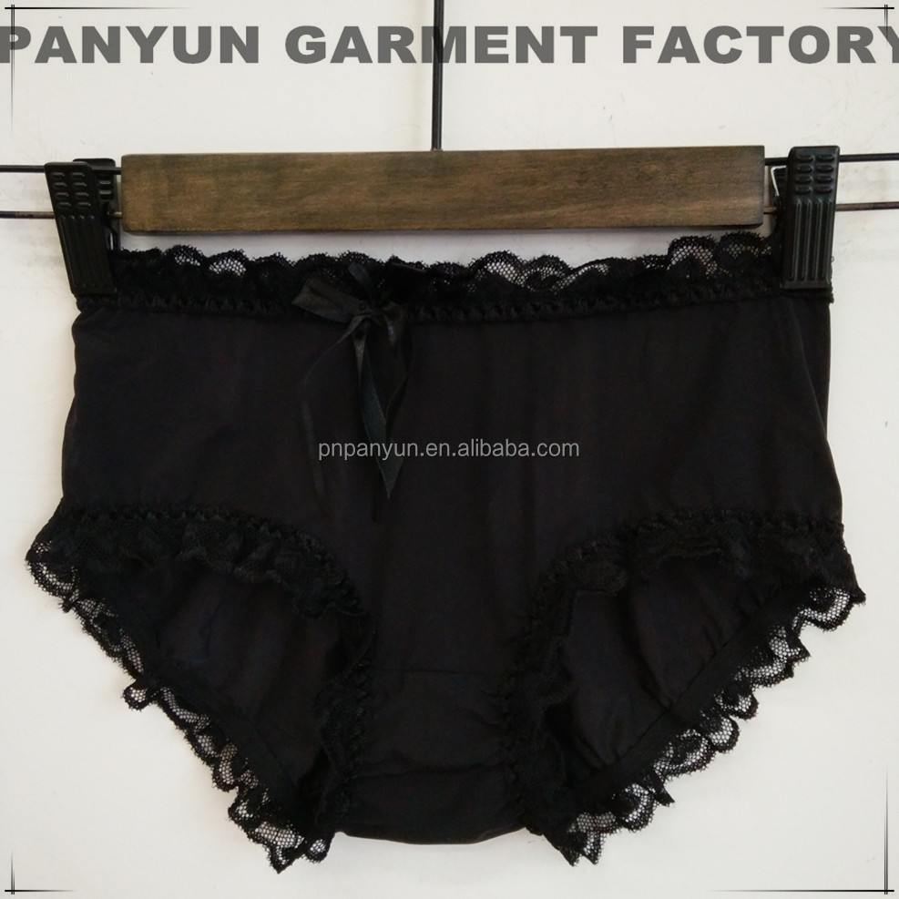 China Wholesales Hot Sales Women Lady Sexy Tight Lace Underwear Lingerie Underpants Women Panties black lace panty