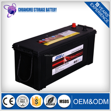 Car Battery Heavy Duty Truck Batteries N120MF