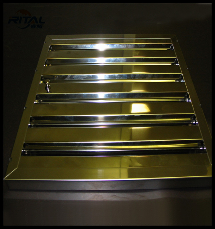how to clean stainless steel range hood filters