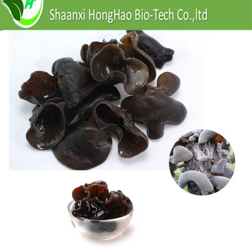 Hot sales organic fresh vegetable extract dried black fungus mushroom polysaccharide blood thinner