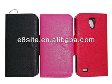 PU Wallet Leather Case For SamSung i9295 Galaxy S4 Active