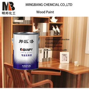 Matte finish clear polyurethane wood varnish paint
