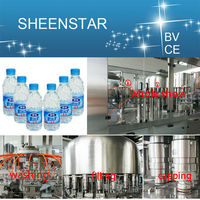 Automatic Filling and Sealing Machine for Plastic Bottle