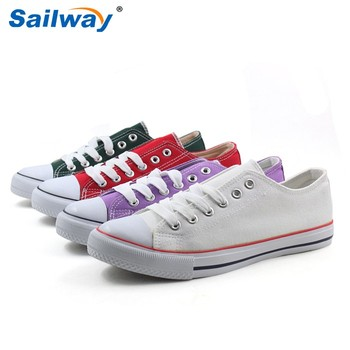 white canvas shoes wholesale , white sneakers , blank sneakers