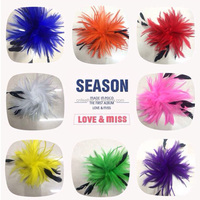 Top selling Beautiful Fashion Handmade Feather Pad headdress for decoration
