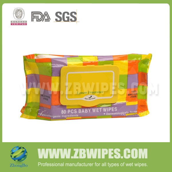 Private Label Baby Daily Cleaning Wet Paper Towel Manufacturers