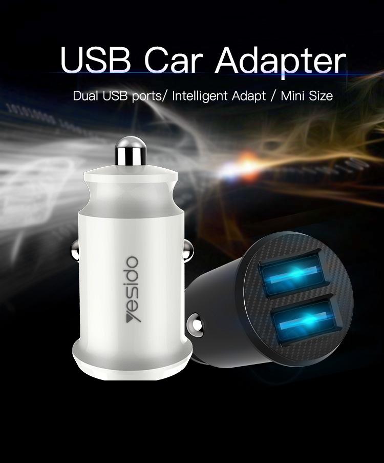 Chargeur de voiture double usb en gros, chargeur de téléphone de voiture - ANKUX Tech Co., Ltd