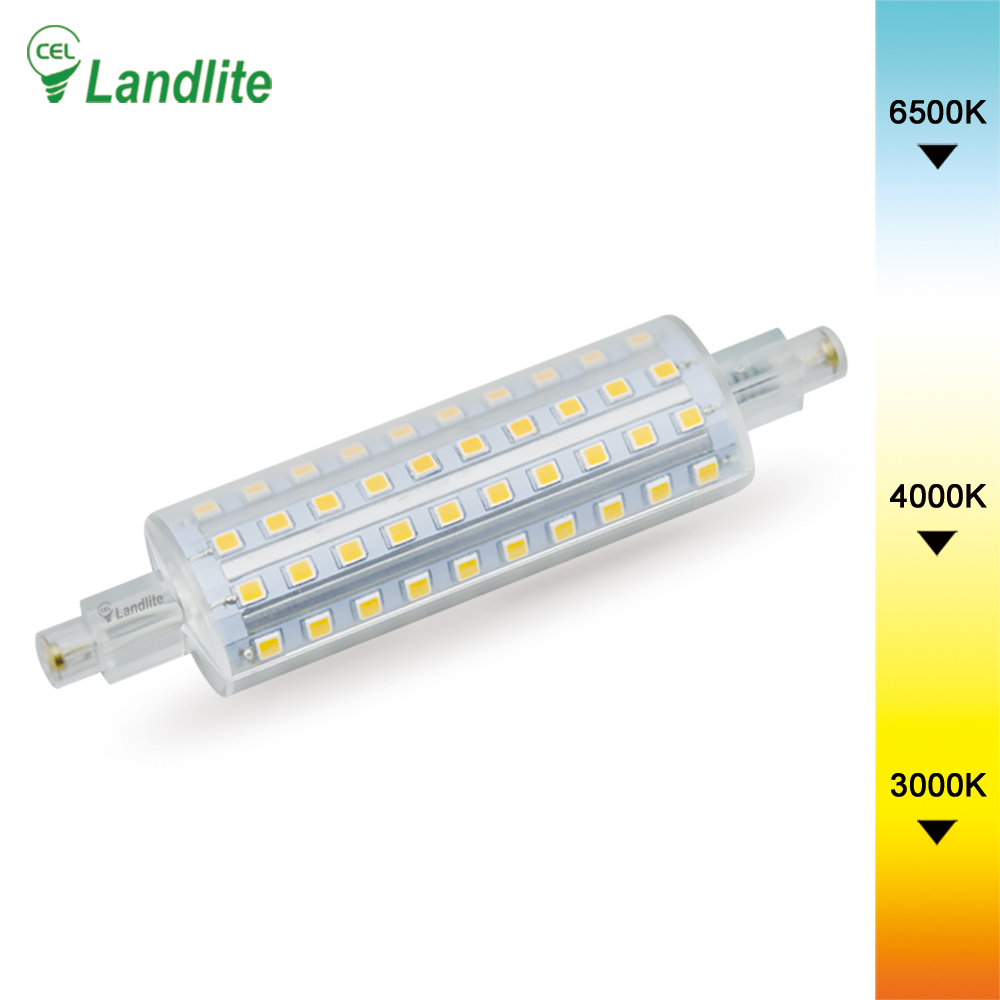 10W 118mm LED R7s Dimmable Replacing Halogen Lamp 400W LED R7s Bulb Light