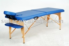 sukar folding beech wood massage bed