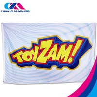 48h delivery 3X5 Customized logo Printing Flags , promotional advertise flag